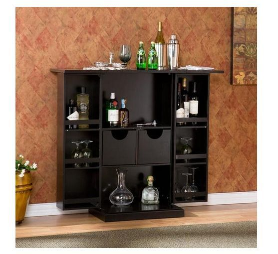Modern Day Home Bar Cabinet photo - 2