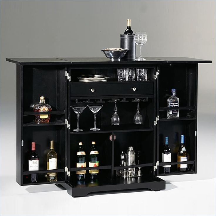 Modern Day Home Bar Cabinet photo - 3