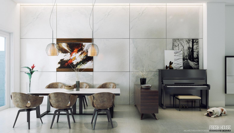 Modern Dining Room photo - 1