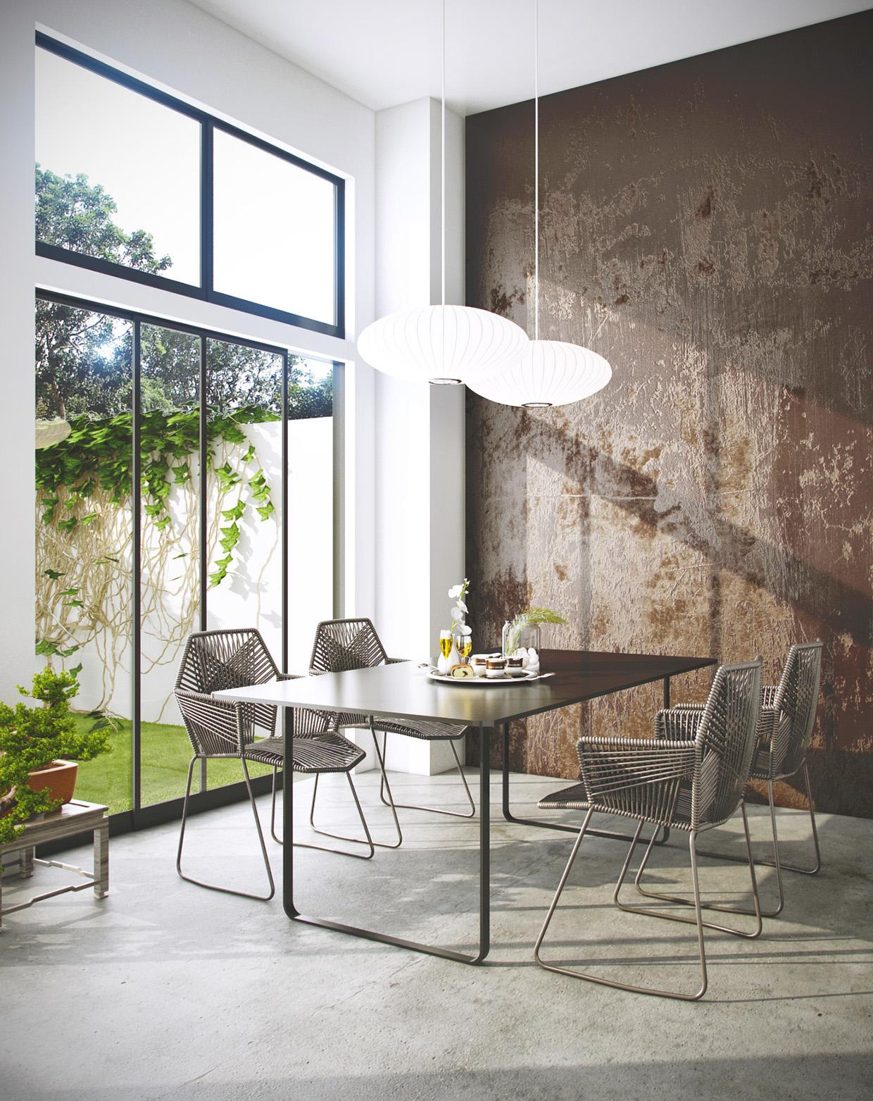 Modern Dining Room photo - 3