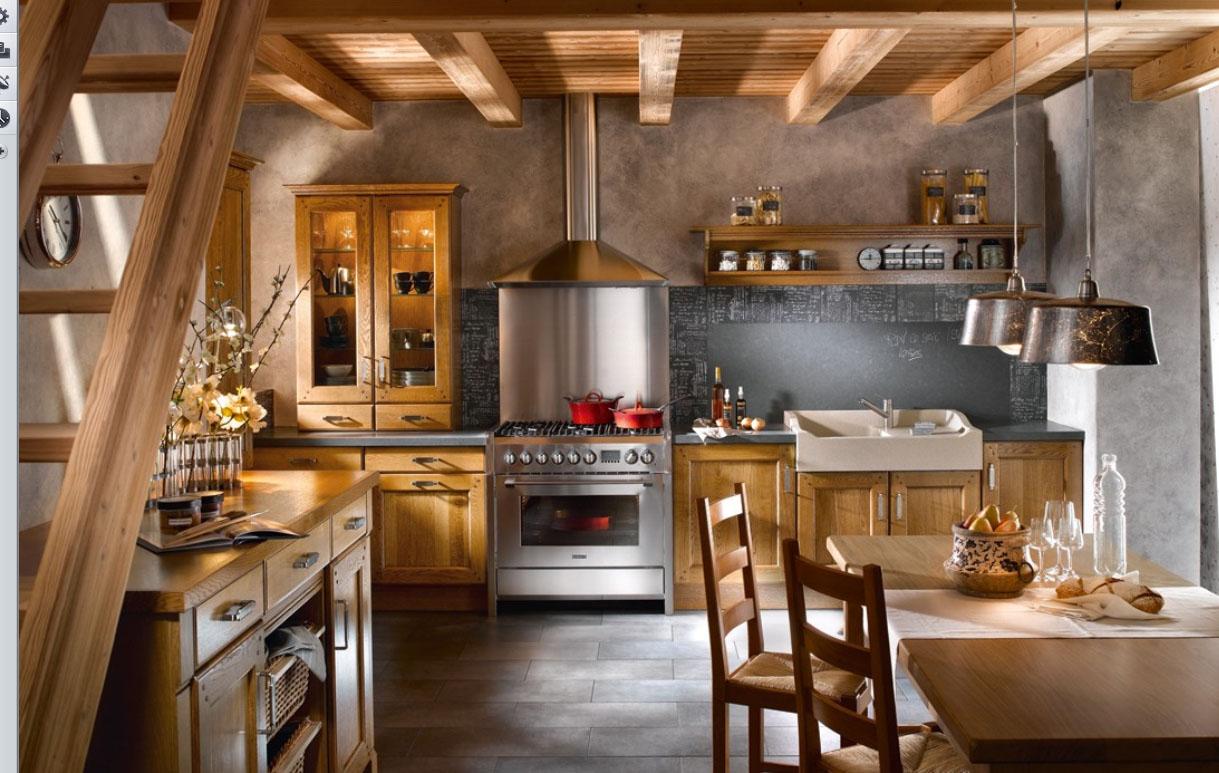 Modern French Kitchen photo - 2
