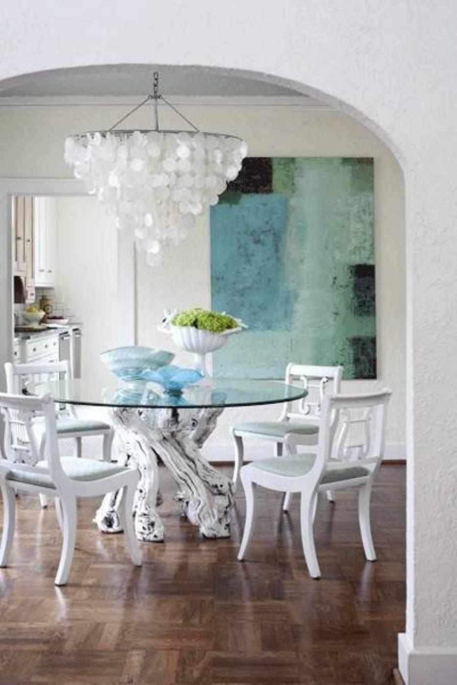Modern Glass Chandelier Home Furniture Design | Hawk Haven