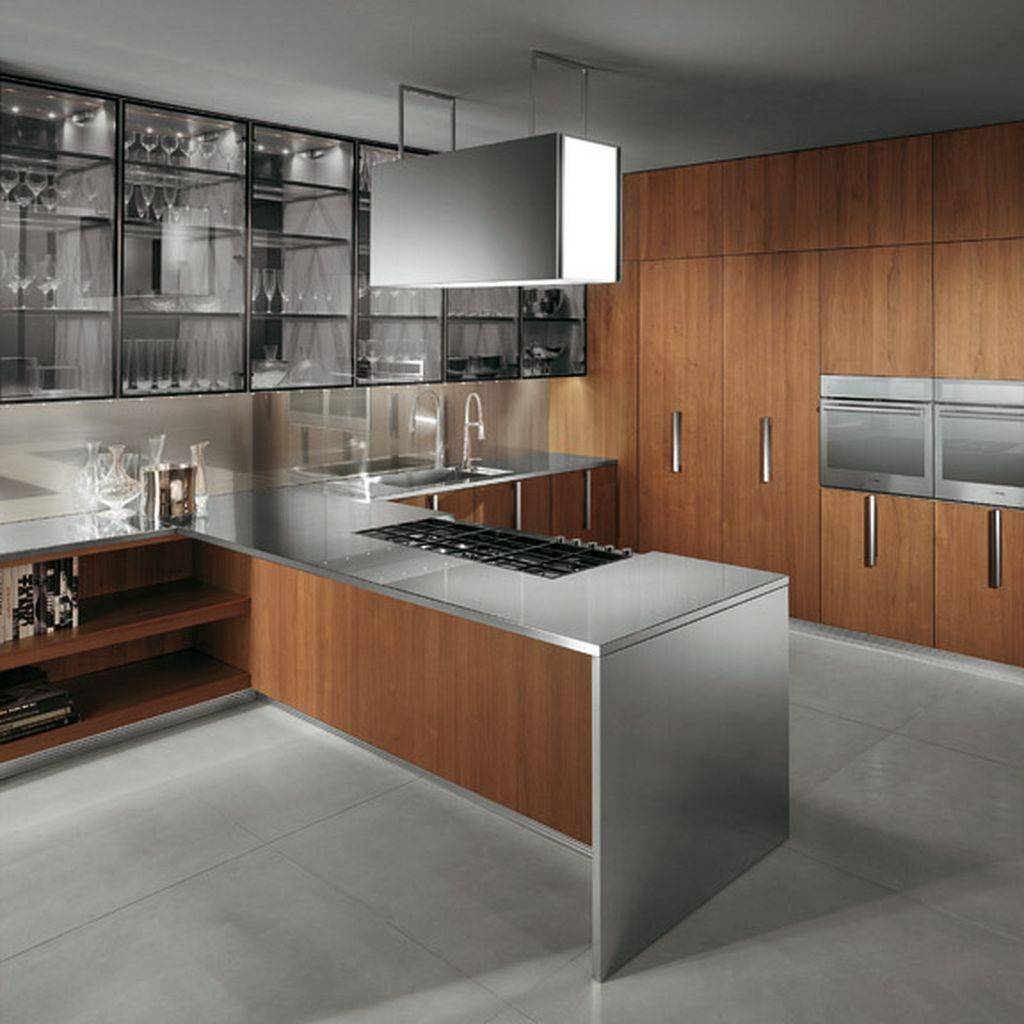 Modern Kitchen in the Woods photo - 3