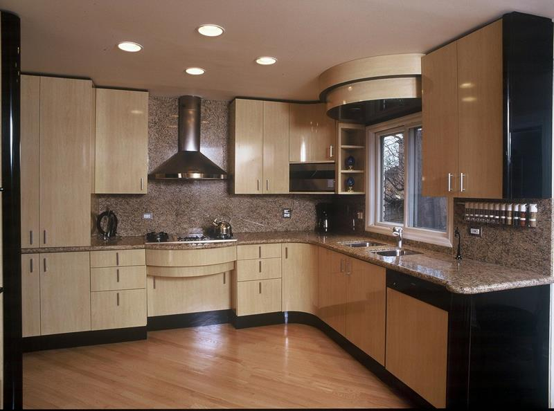 Modern Kitchen in the Woods photo - 4