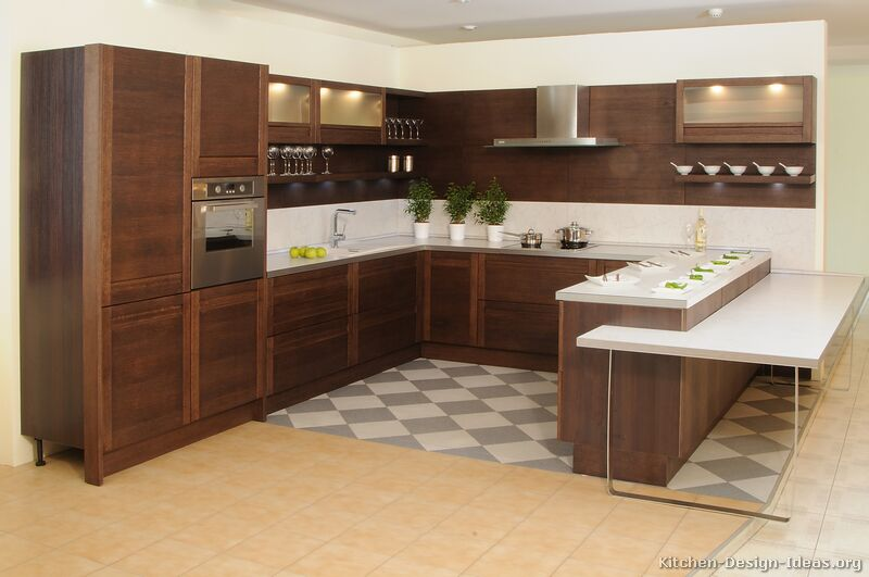 Modern Kitchen in the Woods photo - 6