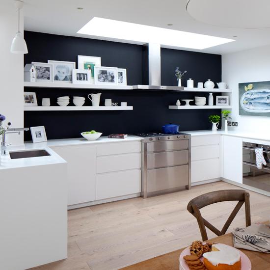 Monochrome Modern Kitchen photo - 1
