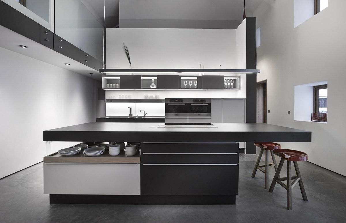 Monochrome Modern Kitchen photo - 6