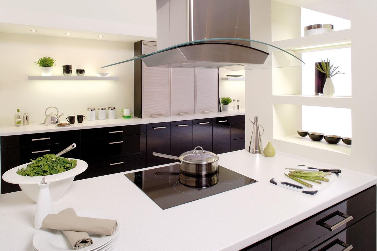 Monochrome Modern Kitchen photo - 8