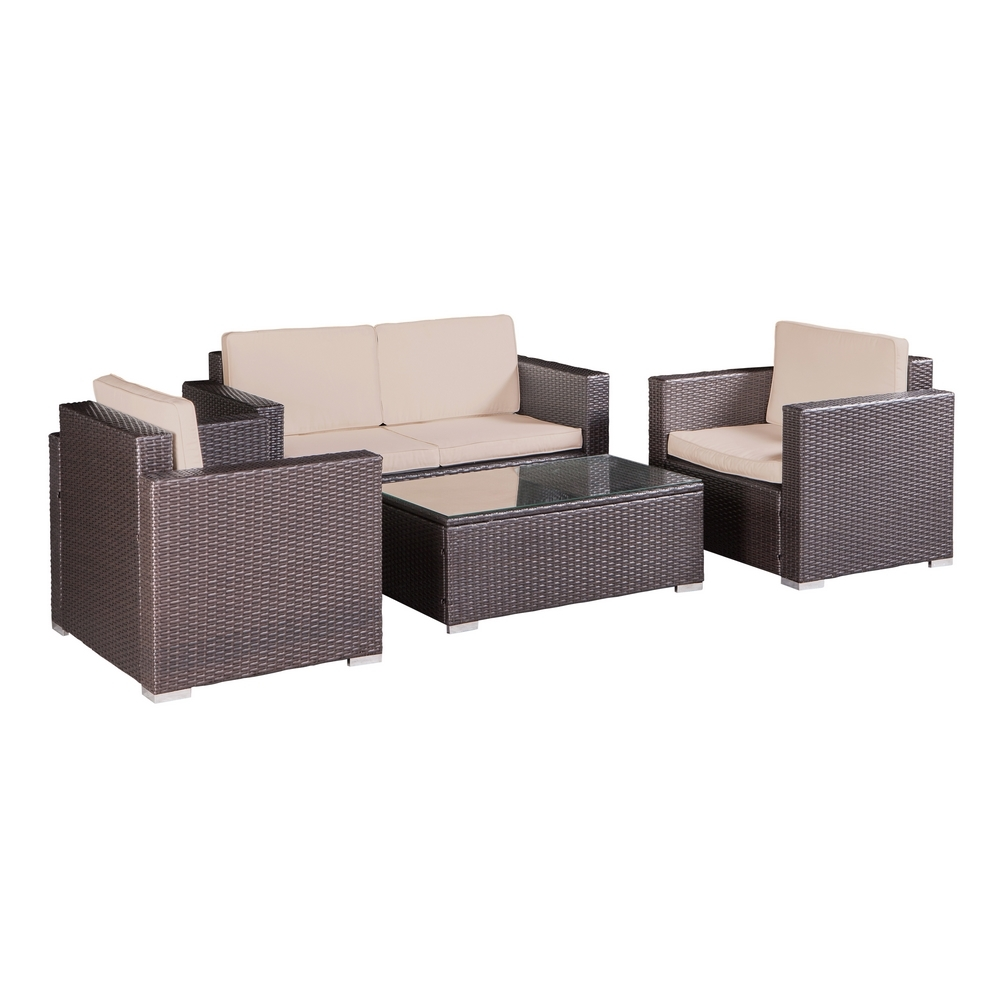 Patio Rattan Chair Set photo - 4