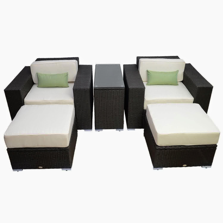 Patio Rattan Chair Set photo - 6