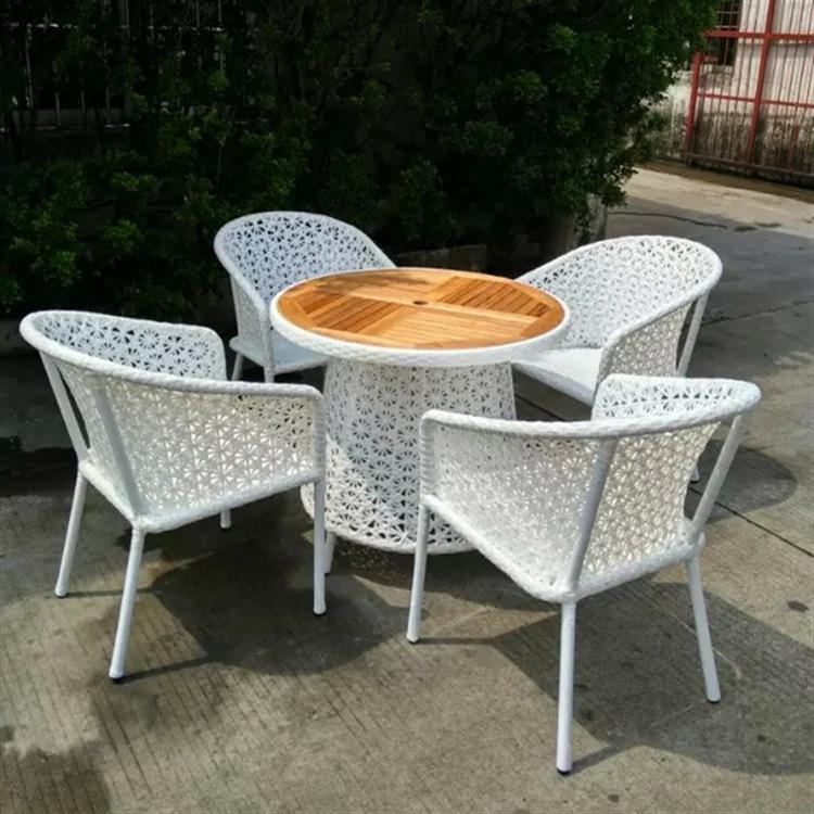 Patio Rattan Chair Set photo - 7