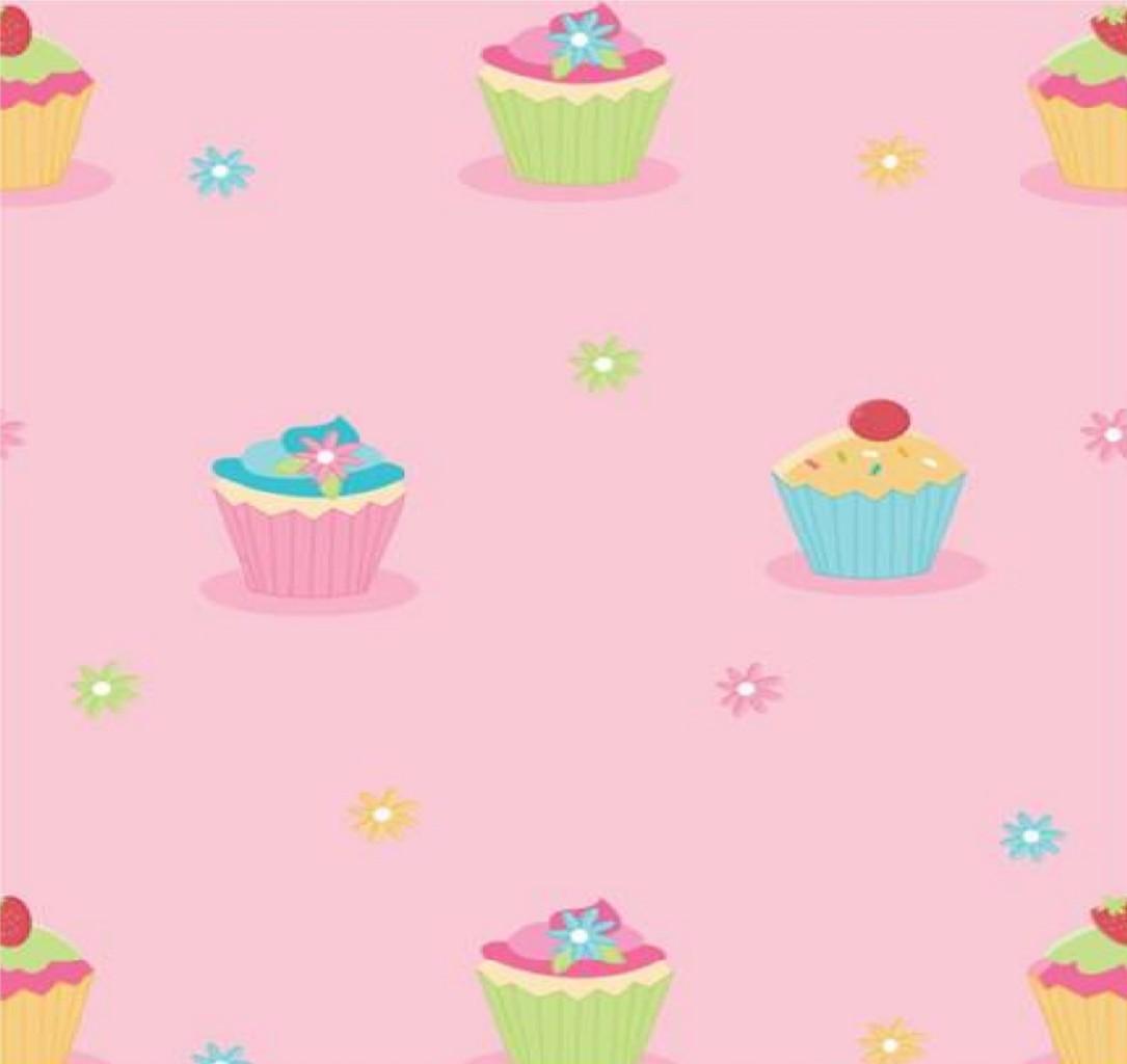 Pink girly kitchen wallpaper photo - 3