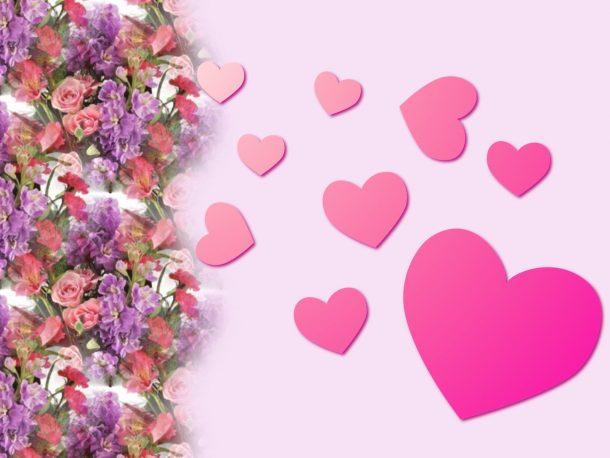 Pink girly kitchen wallpaper photo - 4