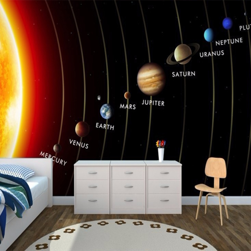 Planet Earth Bedroom Wallpaper photo - 10