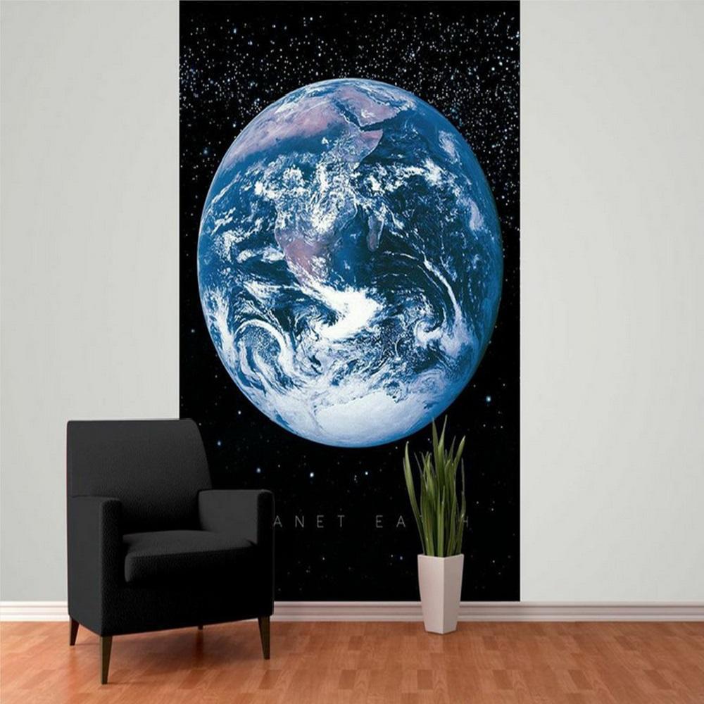 Planet Earth Bedroom Wallpaper photo - 5