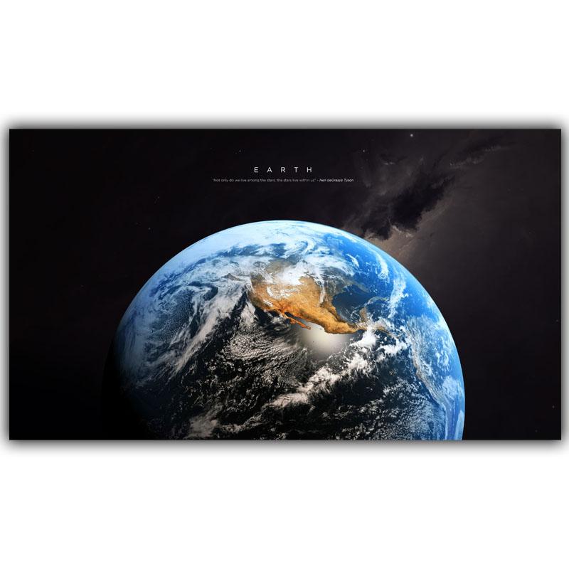 Planet Earth Bedroom Wallpaper photo - 8
