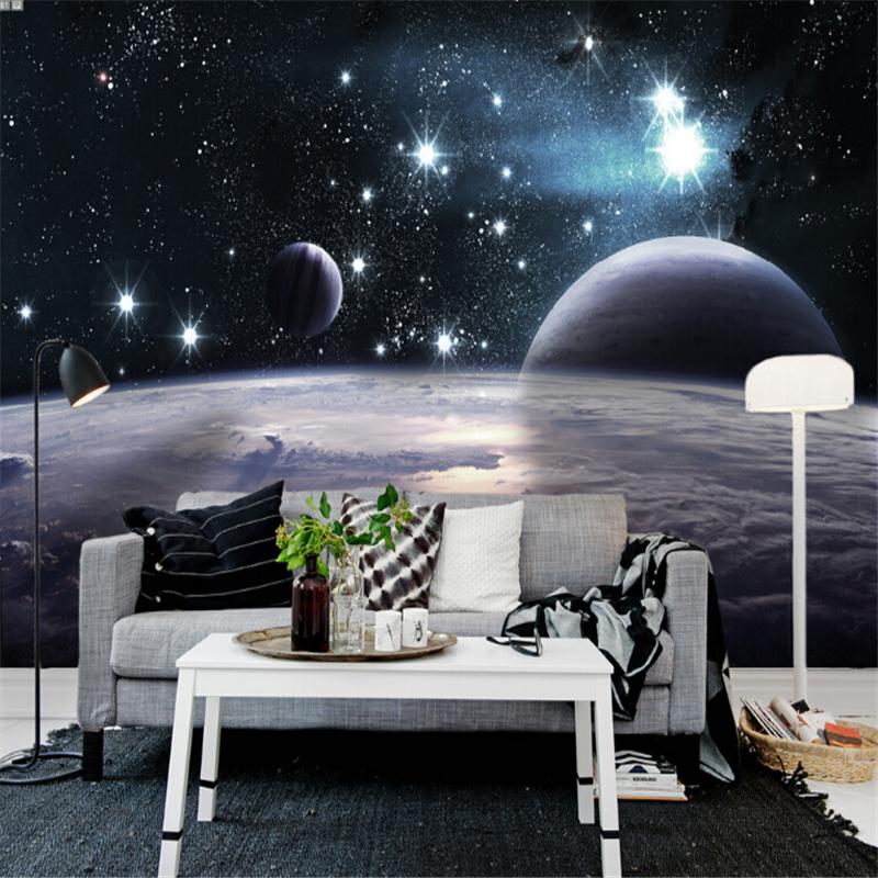 Planet Earth Bedroom Wallpaper photo - 9