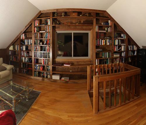 Private Library Design Ideas photo - 10