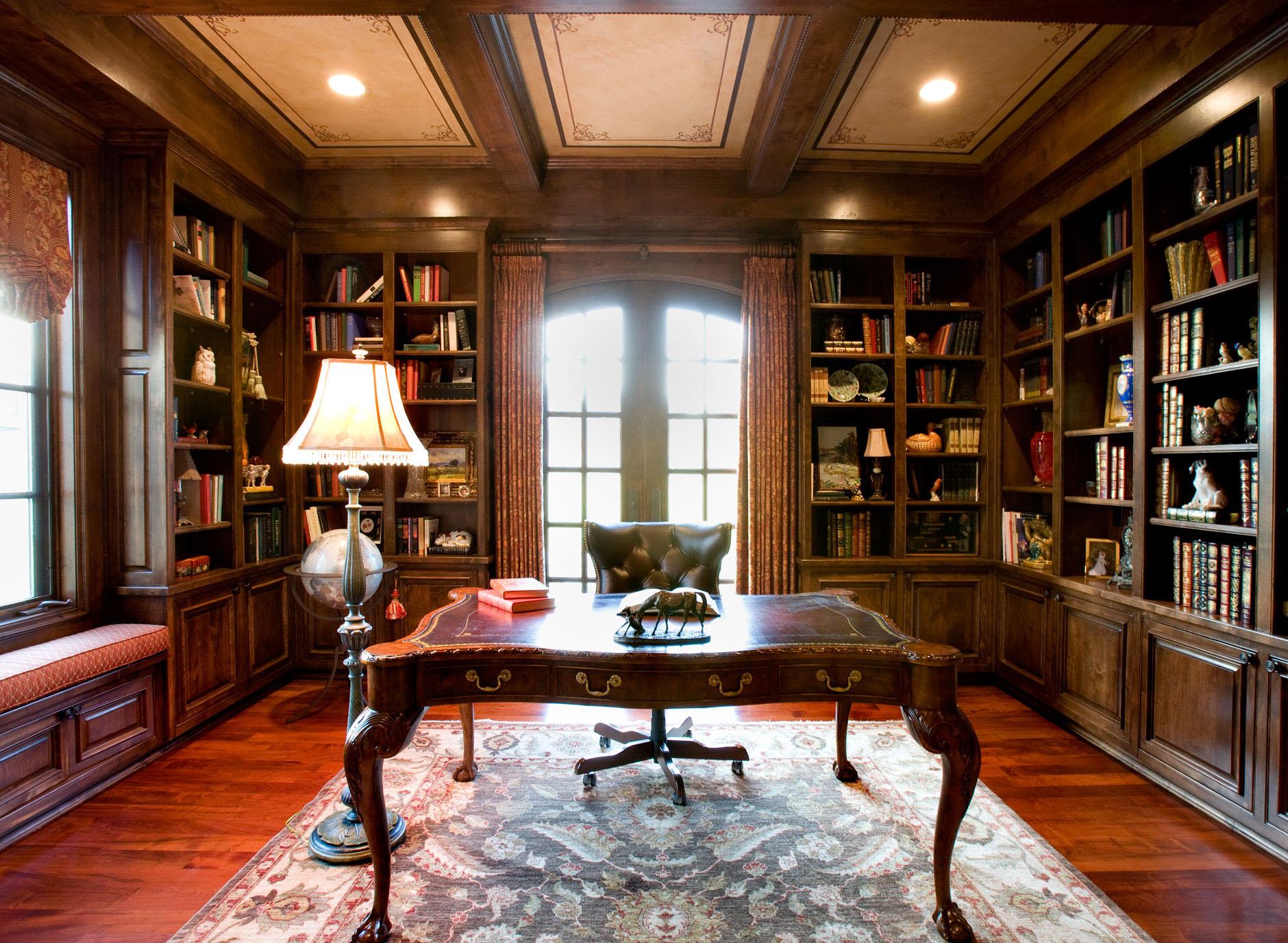 Private Library Design Ideas photo - 3