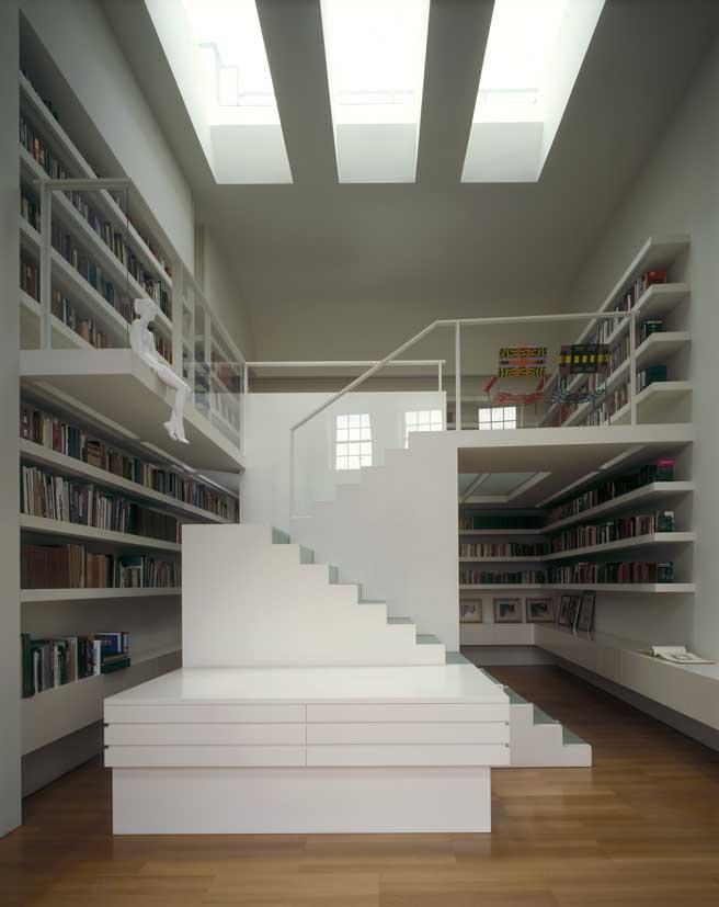 Private Library Design Ideas photo - 5