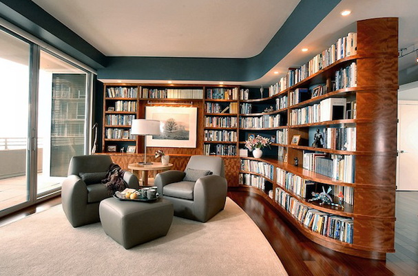 Private Library Design Ideas photo - 6