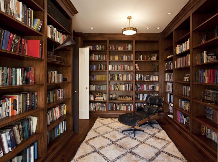 Private Library Design Ideas photo - 7
