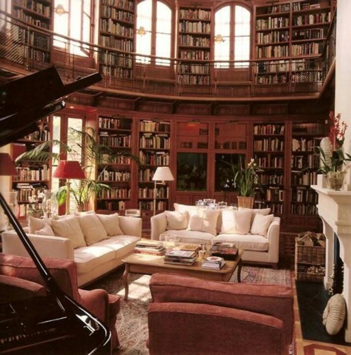 Private Library Design Ideas photo - 9