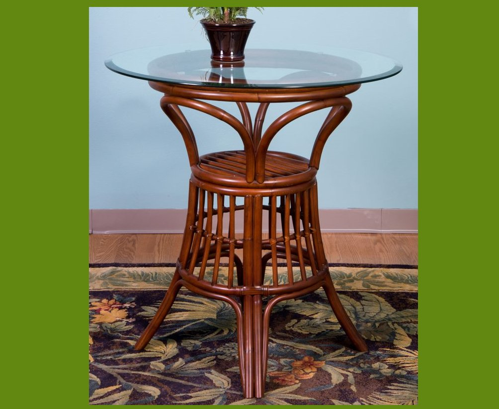 Rattan Bar Table photo - 6