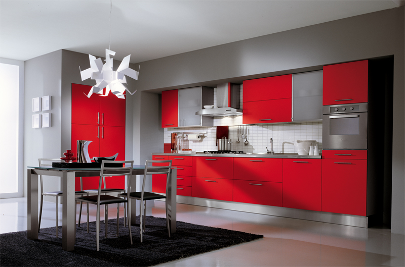 Red Kitchen photo - 10