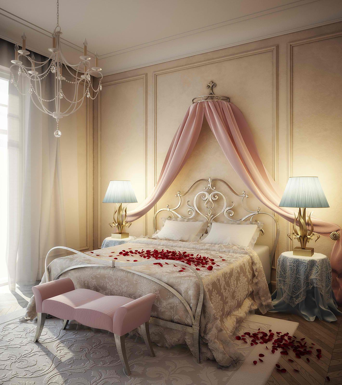 Romantic Bedroom Design photo - 1