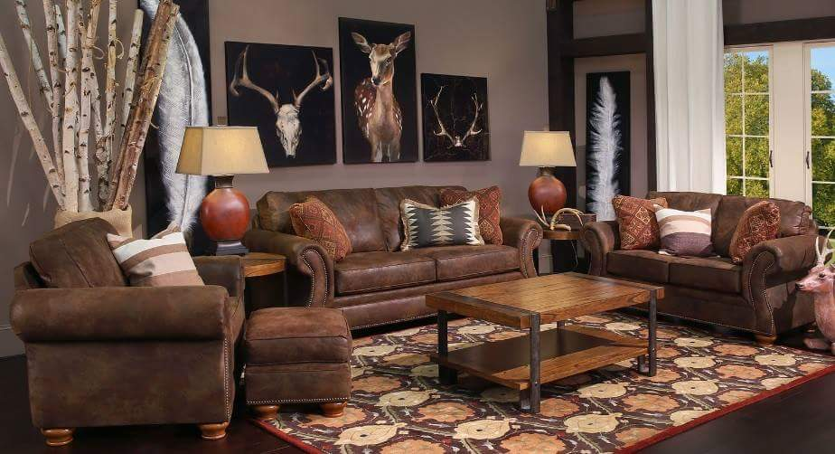 Rustic Appeal Living Room photo - 1