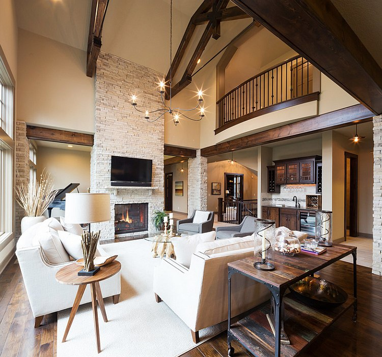 Rustic Appeal Living Room photo - 2