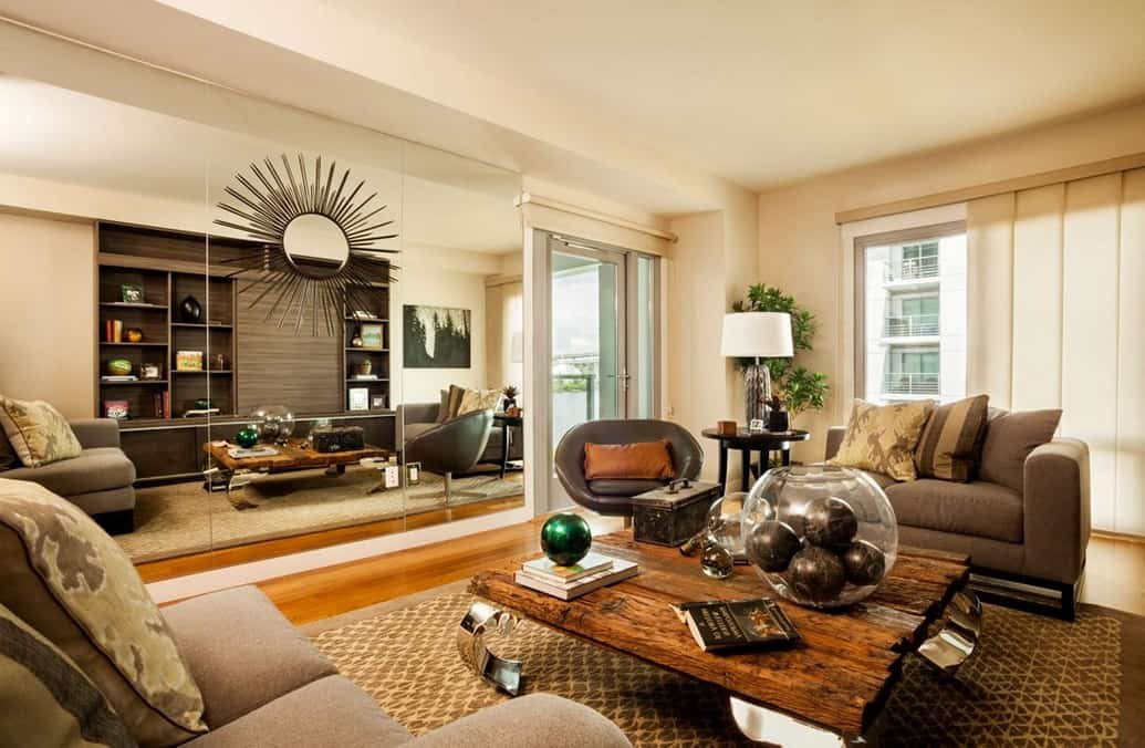 Rustic Appeal Living Room photo - 7