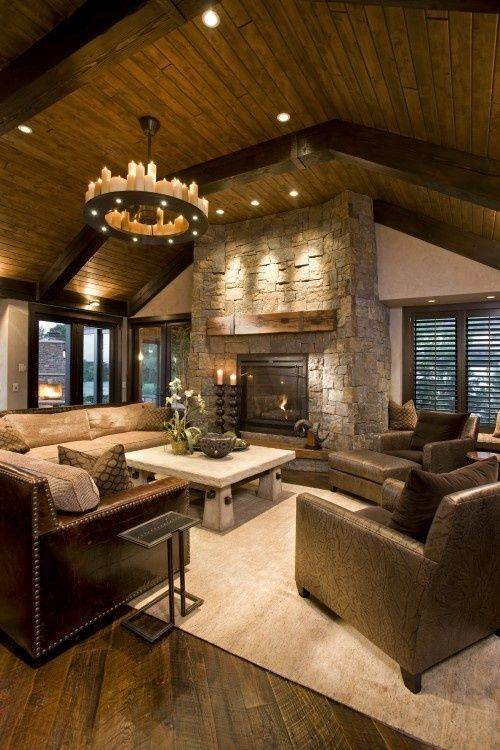 Rustic Appeal Living Room photo - 9