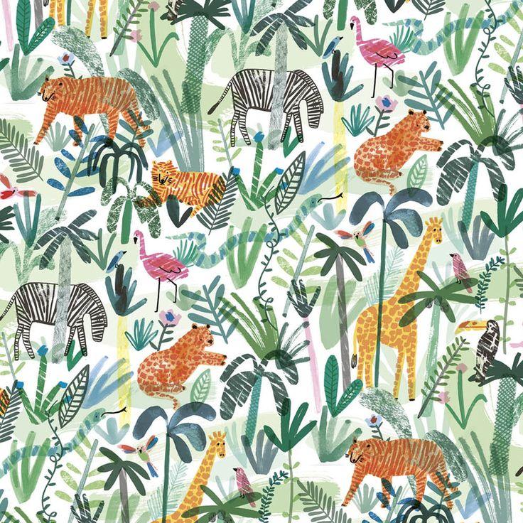 Safari Pattern Wallpaper photo - 10