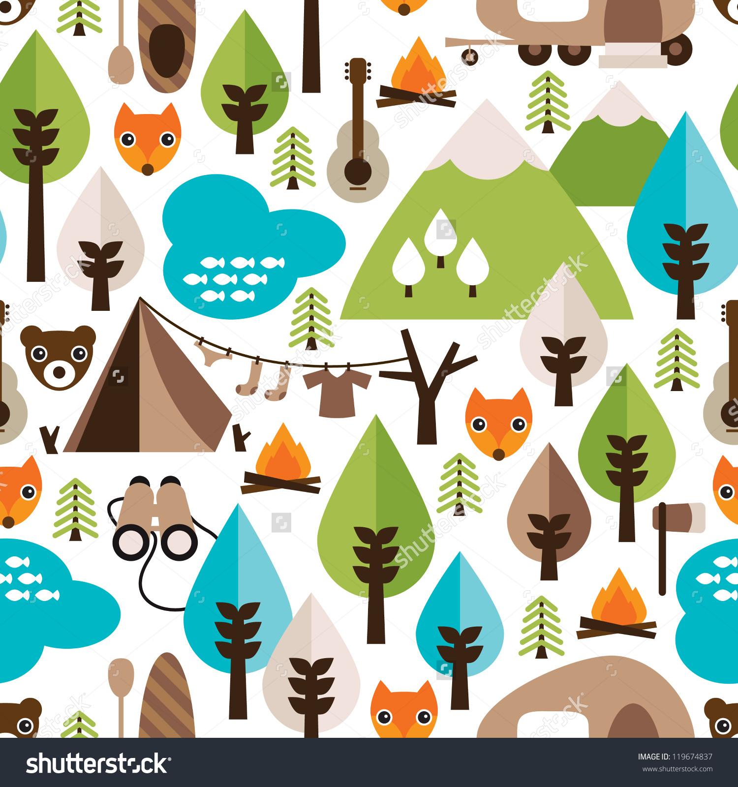 Safari Pattern Wallpaper photo - 6