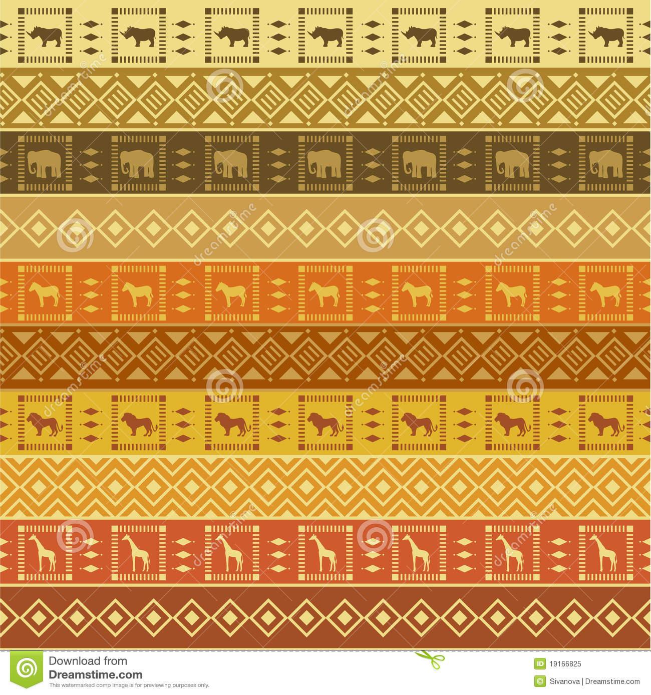 Safari Pattern Wallpaper photo - 9