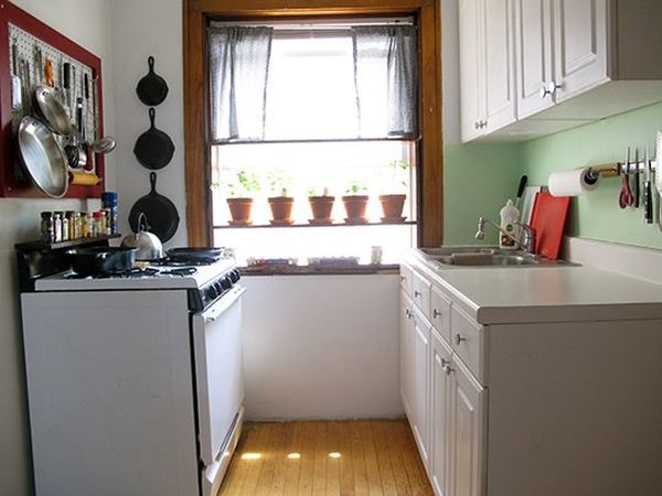Small Kitchen Interior photo - 2