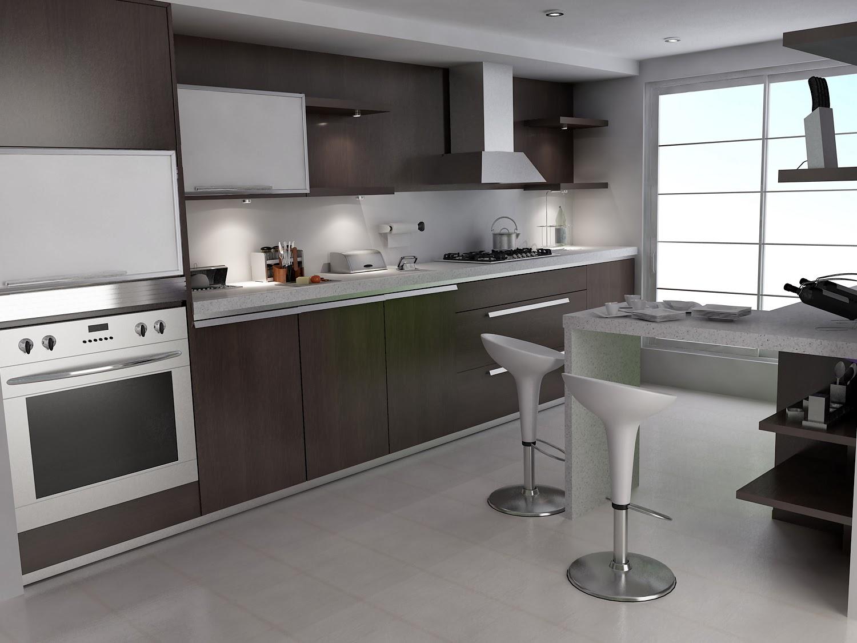 Small Kitchen Interior photo - 3