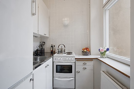 Small Kitchen Interior Photo   8