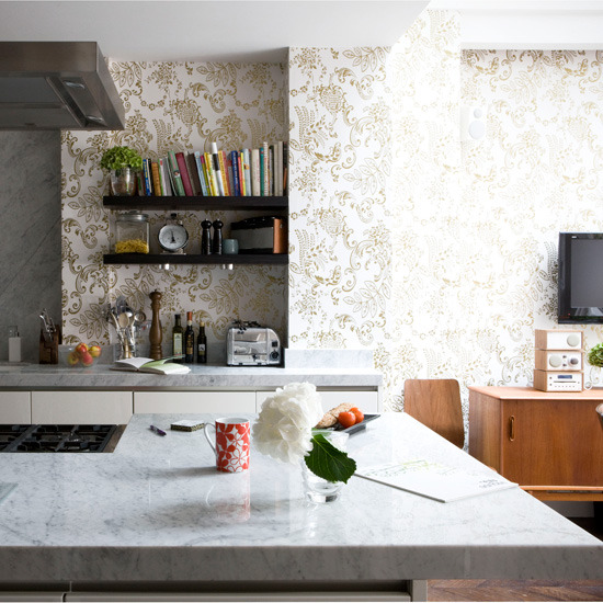 Statement kitchen wallpaper photo - 10