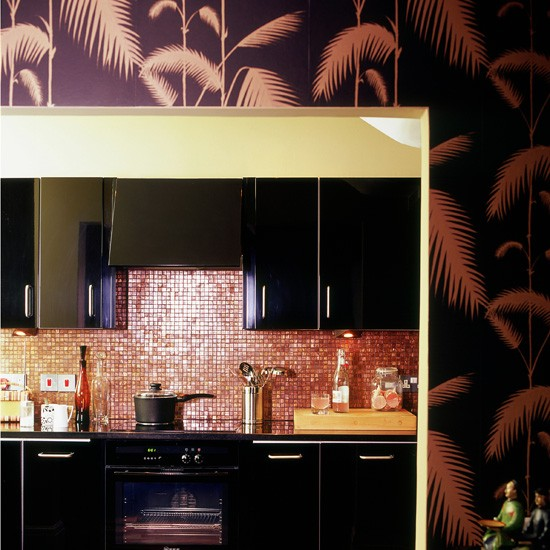 Statement kitchen wallpaper photo - 5