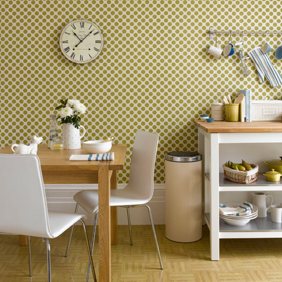 Statement kitchen wallpaper photo - 8