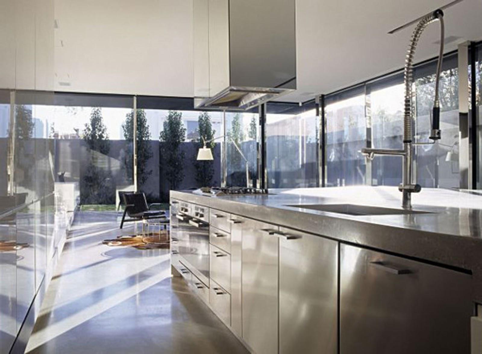 Steel Kitchen Interior photo - 1