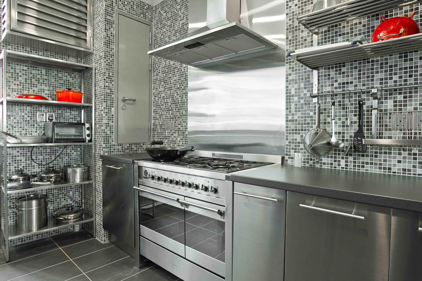 Steel Kitchen Interior photo - 10