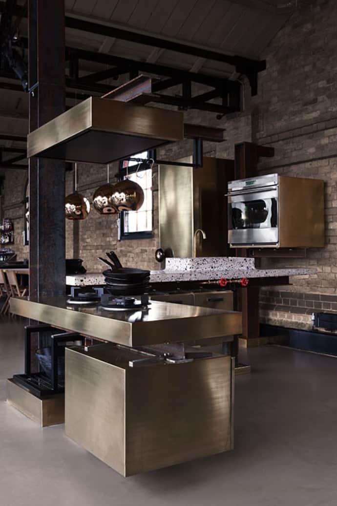 Steel Kitchen Interior photo - 2