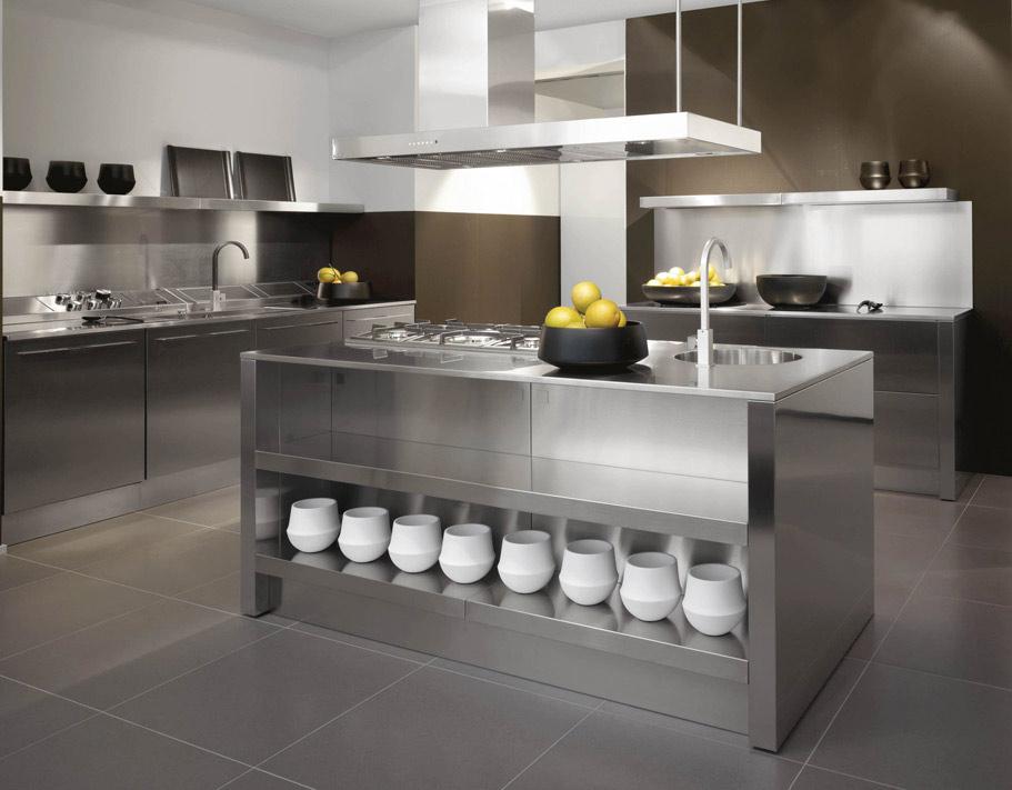 Steel Kitchen Interior photo - 3