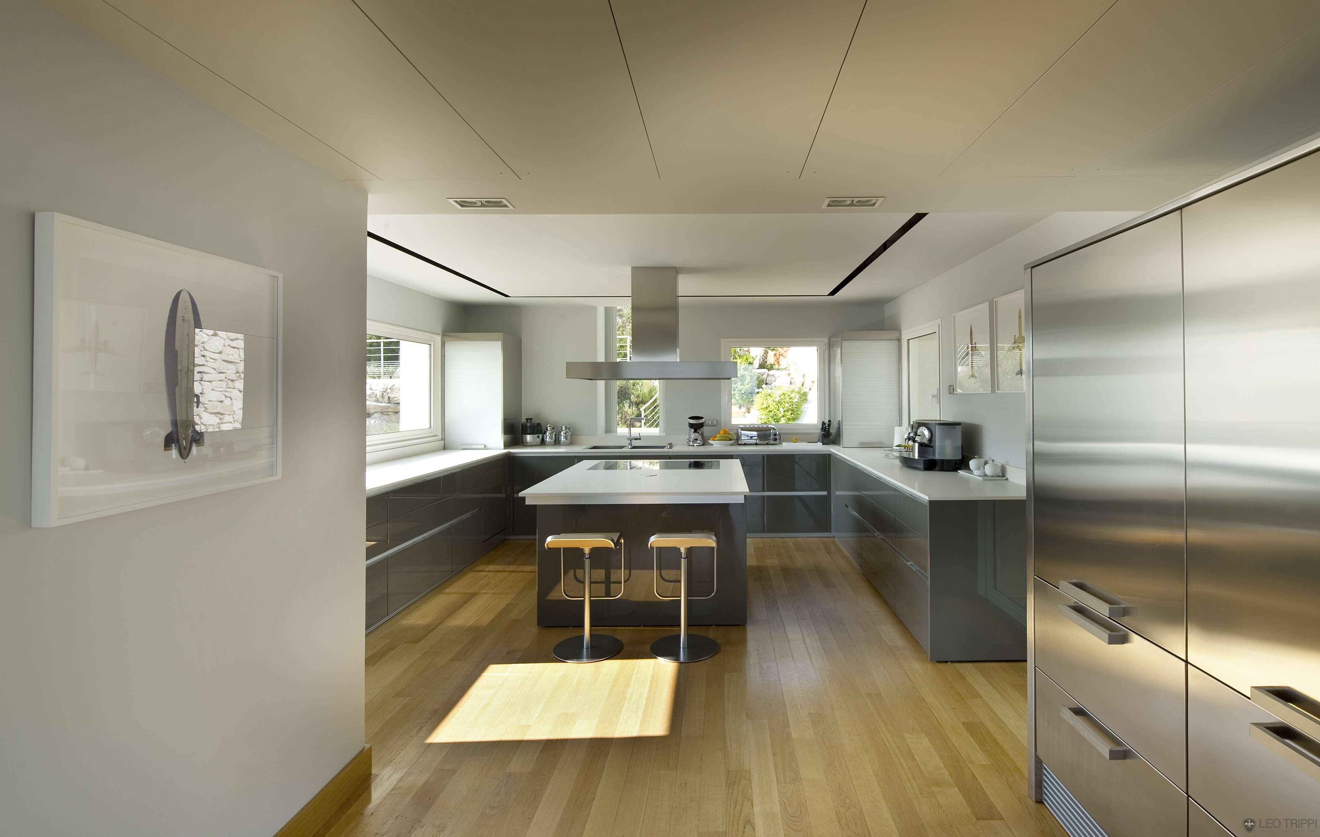Steel Kitchen Interior photo - 6