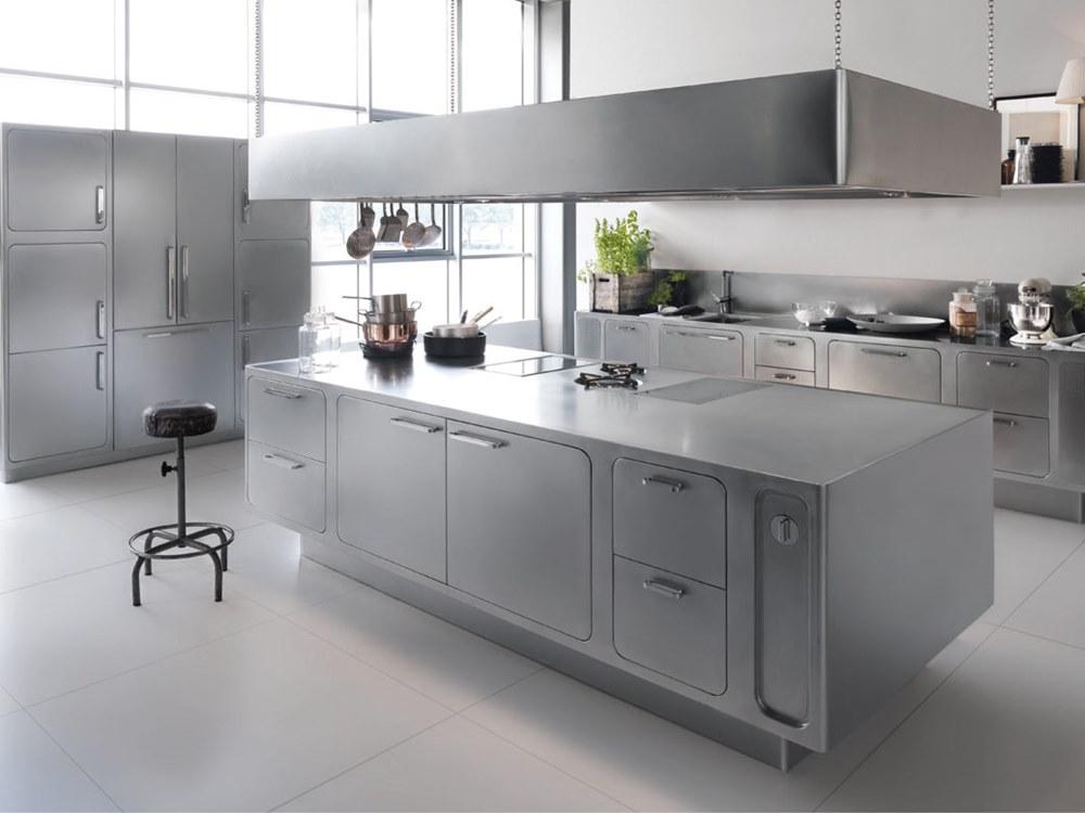 Steel Kitchen Interior photo - 7
