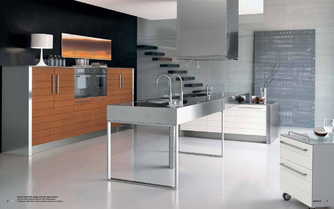 Steel Kitchen Interior photo - 8